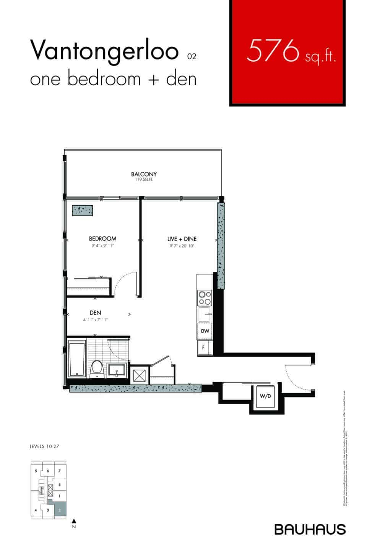 Bauhaus Floorplans Vantongerloo