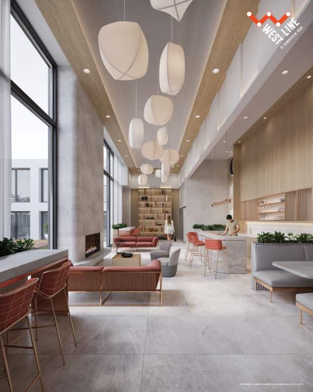 WestLine Condos Rooftop Co Working Space