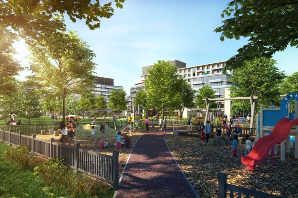 411 Victoria Park rendering