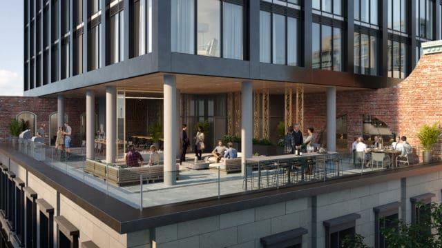 Queen Central West Terrace