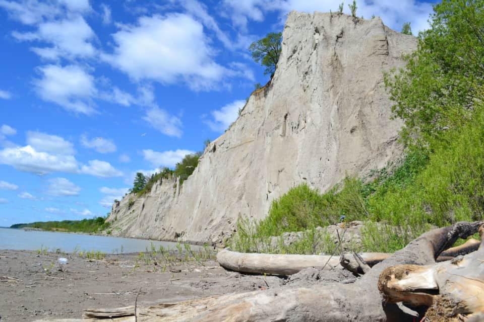 birch cliff beach photo