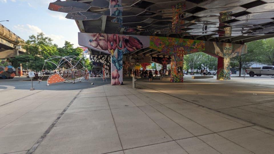 corktown bridge underpass