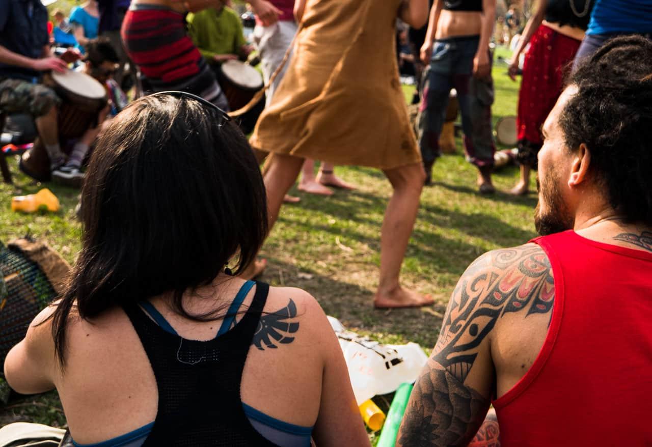 festival at trinity bellwoods park
