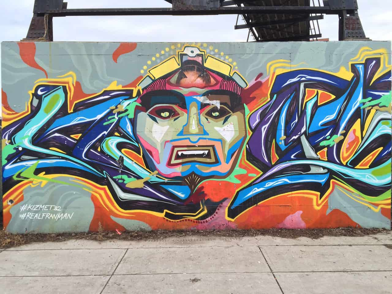 graffiti in the junction