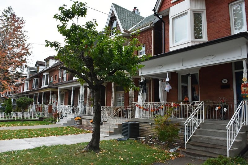 residential homes in little italy toronto