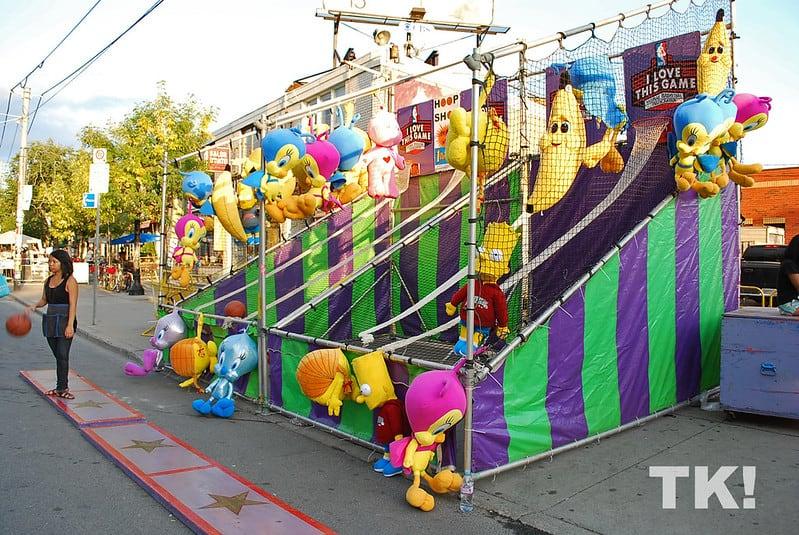 street fair in little italy