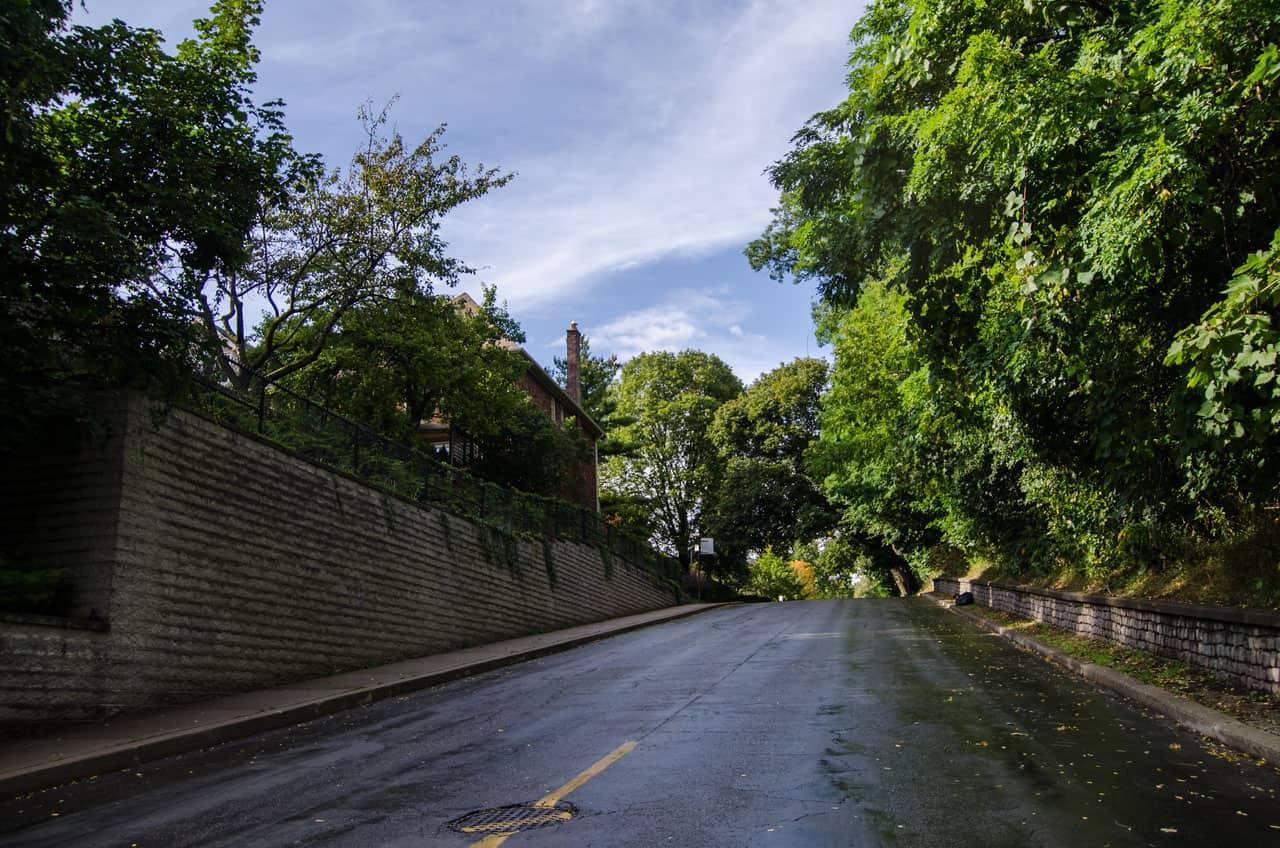 turner road between hillcrest and davenport