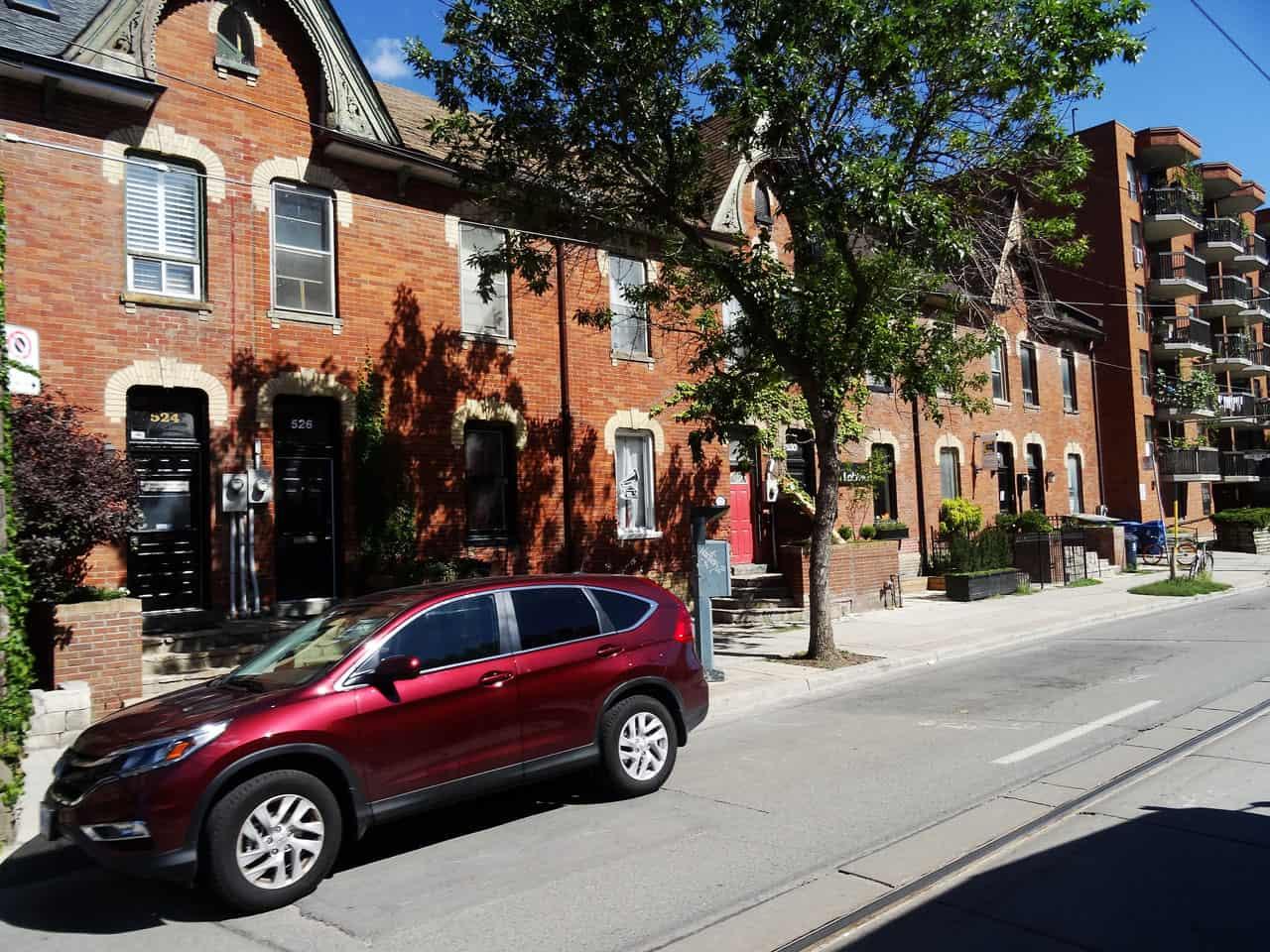 west donlands neighbourhood homes and building
