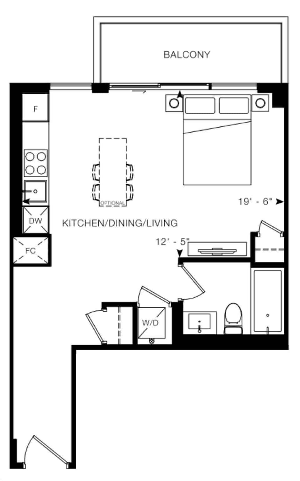 Arte Condos Georgia floorplan v15 full