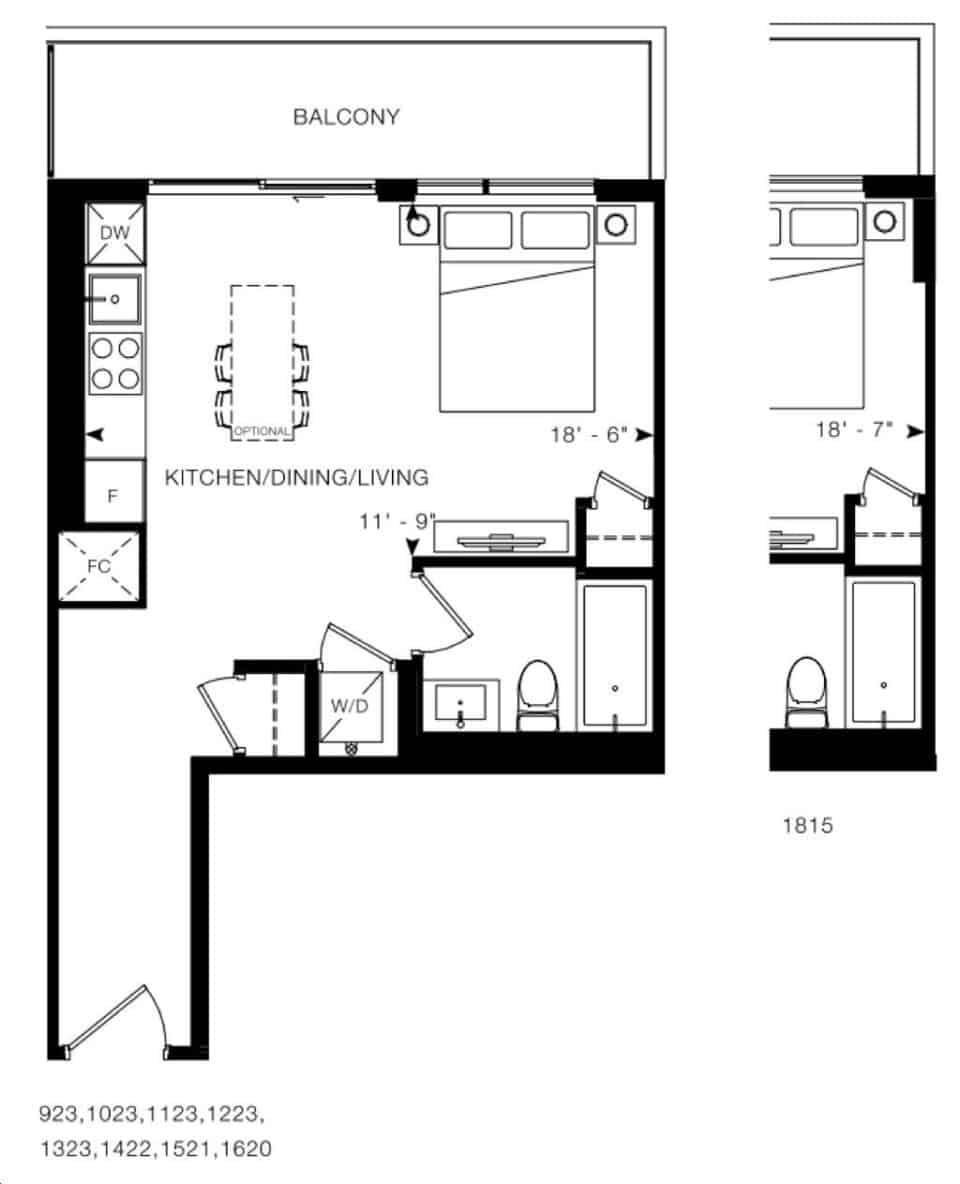 Arte Condos Sherman 1 floorplan v15 full