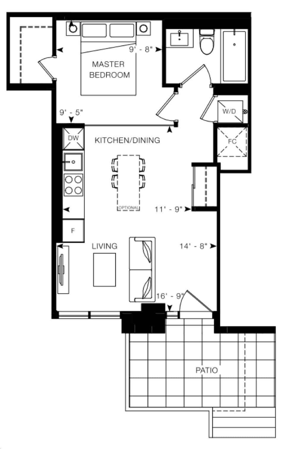 Arte Condos Vermeer floorplan v15 full