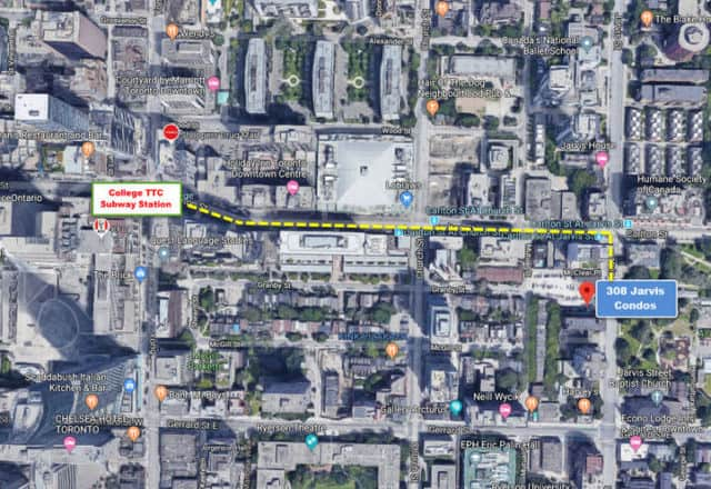 JAC Condos Easy Access to College TTC Subway Station 40 v179