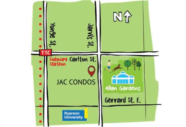 JAC Condos Future Location Site Map 28 v179