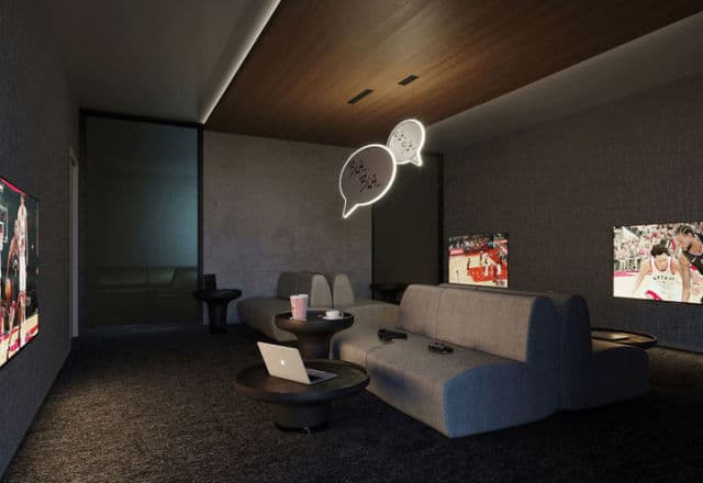 JAC Condos Media Room with Theater and Games Room 7 v179