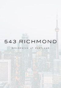 543 richmond condos brochure