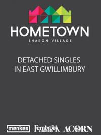 Hometown Sharon Village brochure cover2