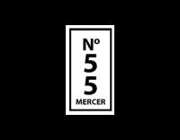 No55Mercer Logo white