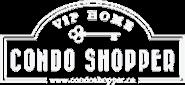 condo shopper logo white