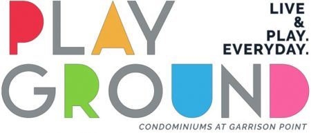 garrison point playground preconstruction condo logo