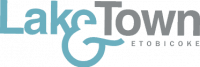 lake and town etobicoke logo