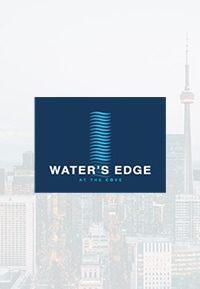 waters edge condos brochure